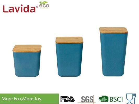 Boîte de rangement en bambou naturelle biodégradable de ...